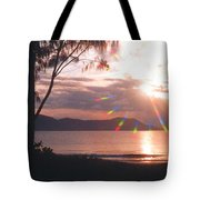 Dunk Island Australia Tote Bag by Jerome Stumphauzer