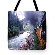 Durango To Silverton Tote Bag by Kume Bryant