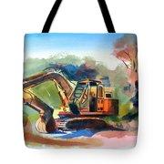 Duty Dozer Tote Bag by Kip DeVore