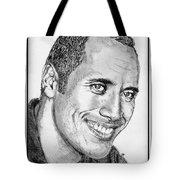 Dwayne Johnson In 2007 Tote Bag by J McCombie