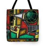 E-commerce Tote Bag by Leon Zernitsky