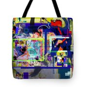 Each Positive Step Is Vital 6 Tote Bag by David Baruch Wolk