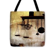 Early Kitchen Tools Tote Bag by Marcia L Jones