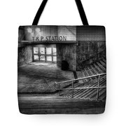 Early Morning Commute Tote Bag by Joan Carroll