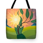Early Morning Tote Bag by Emil Parrag
