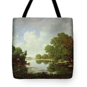 Early Summer Afternoon Tote Bag by Pierre Etienne Theodore Rousseau