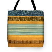 Earth Layers Abstract ll Tote Bag by Michelle Calkins