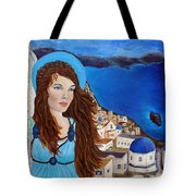 Earthangel Athena Tote Bag by The Art With A Heart By Charlotte Phillips