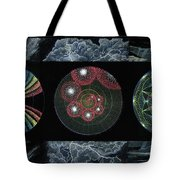 Earth's Beginnings Tote Bag by Keiko Katsuta