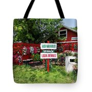 East End Farmstand Tote Bag by Ed Weidman
