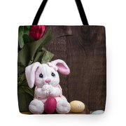 Easter Bunny Tote Bag by Edward Fielding