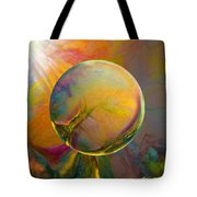 Easter Orb Tote Bag by Robin Moline
