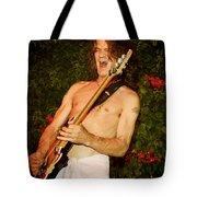 Eddie Van Halen Tote Bag by Nina Prommer