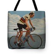 Eddy Merckx Tote Bag by Paul Meijering