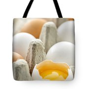 Eggs In Box Tote Bag by Elena Elisseeva