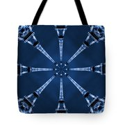 Eiffel Art 21 Tote Bag by Mike McGlothlen