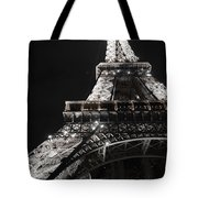 Eiffel Tower Paris France Night Lights Tote Bag by Patricia Awapara