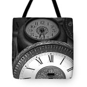 Eight Faces of Time Tote Bag by Tom Gari Gallery-Three-Photography