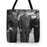 Eisenhower & Marshall 1944 Tote Bag by Granger