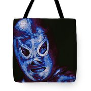 El Santo The Masked Wrestler 20130218m168 Tote Bag by Wingsdomain Art and Photography