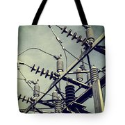 Electricity Tote Bag by Edward Fielding