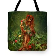 Elements - Earth Tote Bag by Cassiopeia Art