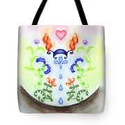 Elements Tote Bag by Keiko Katsuta