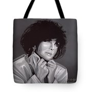 Elizabeth Taylor Tote Bag by Paul Meijering