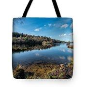 Elsi Reservoir Tote Bag by Adrian Evans