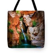 Elves Chasm Tote Bag by Inge Johnsson