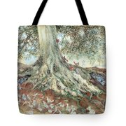 Elves In Rabbit Warren Tote Bag by Photo Researchers