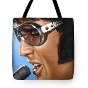 Elvis 24 1970 Tote Bag by Rob De Vries
