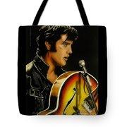 Elvis Presley Tote Bag by Betta Artusi