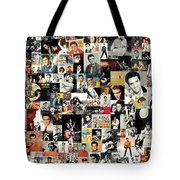 Elvis The King Tote Bag by Taylan Soyturk