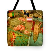 Embroidery Lessons Early 1900s Tote Bag by Rebecca Sherman