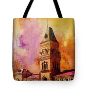 Empress Market Tote Bag by Catf