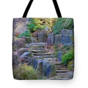 Enchanted Stairway Tote Bag by Athena Mckinzie