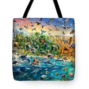 Endangered Species Tote Bag by Adrian Chesterman