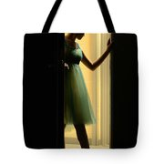 Enter Upon This Stage Tote Bag by Laura Fasulo