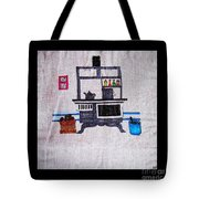 Enterprise Woodstove - Grey Tote Bag by Barbara Griffin