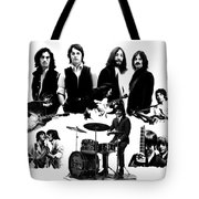 Epic The Beatles Tote Bag by Iconic Images Art Gallery David Pucciarelli