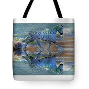 Epona Equine Dressage Test  Tote Bag by Betsy C  Knapp