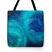 Equivalent Space Original Painting Tote Bag by Sol Luckman