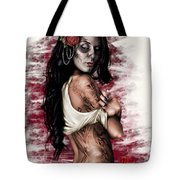 Esperanza Viva Tote Bag by Pete Tapang