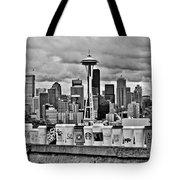 Espresso City Tote Bag by Benjamin Yeager