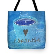 Espresso Tote Bag by Linda Woods