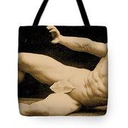 Eugen Sandow Tote Bag by Benjamin J Falk