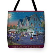 Evening In Campton Village Tote Bag by Nancy Griswold