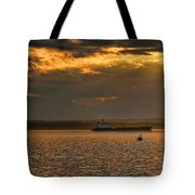 Evening Mariners Puget Sound Washington Tote Bag by Jennie Marie Schell