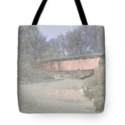 Everett Covered Bridge Tote Bag by Jack R Perry